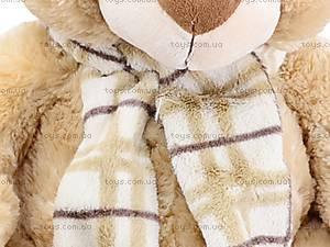 Плюшевый медведь, с шарфом, S-YZ-4036/46S, отзывы