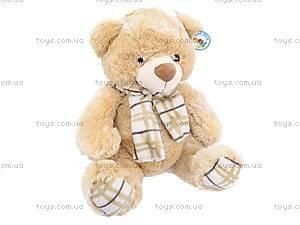 Плюшевый медведь, с шарфом, S-YZ-4036/46S, цена