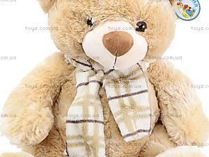Плюшевый медведь, с шарфом, S-YZ-4036/46S, игрушки