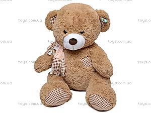 Плюшевый медведь в шарфе, S-JY-3271/70, фото
