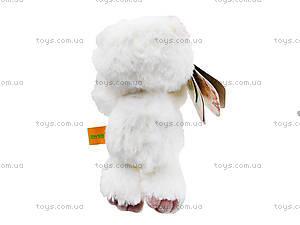 Плюшевый медвежонок «Почемучка влюбленный», К351ВН, фото