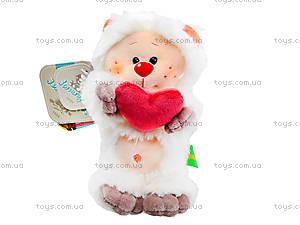 Плюшевый медвежонок «Почемучка влюбленный», К351ВН, отзывы