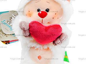 Плюшевый медвежонок «Почемучка влюбленный», К351ВН, цена