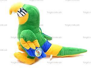 Плюшевый попугай, M-CW21062-1/5, игрушки