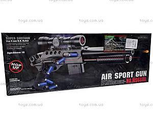 Пневматическое детское ружье с прицелом, 0688A, игрушки