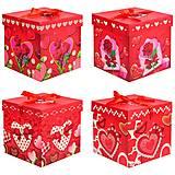 Подарочная коробка складная, микс 4 вида (20.5*20.5*20), PB2352, детские игрушки