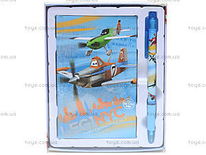 Подарочная записная книжка с ручкой «Летачки», PLBB-US1-340