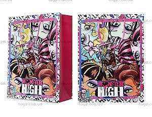 Подарочный бумажный пакет Monster High,