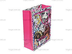 Подарочный бумажный пакет Monster High, , отзывы