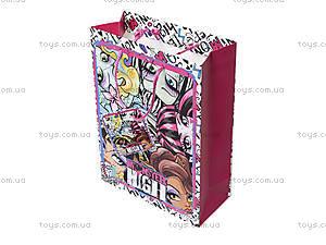 Подарочный бумажный пакет Monster High, , цена