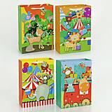 Подарочный пакет 3D «Зоопарк», 4 вида, 3D01470, фото