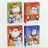 Подарочный пакет «Новогоднее настроение», 4 вида, 01539, фото