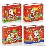 Подарочный пакет «Новогодние подарки», 4 вида, 01542
