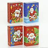 Подарочный пакет «Новогодний», 4 вида, 01540