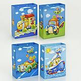 Подарочный пакет с 3D рисунками, 01456, фото