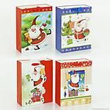 Подарочный пакет «Санта Клаус», 4 вида, 01536, купить