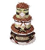 Торт из подгузников Brand New, PPC09, фото