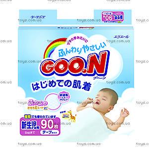 Подгузники для новорожденных Goo.N, 753131