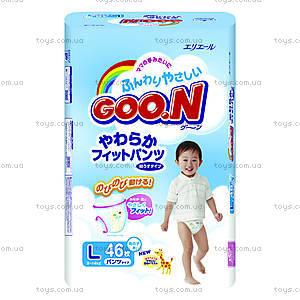 Подгузники-трусики детские Goo.N, размер L, 753462