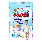 Подгузники-трусики детские Goo.N, размер L, 753138, купить