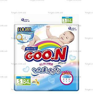Подгузники GOO.N для детей 4-8 кг, на липучках, 853074