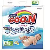 Подгузники GOO.N для детей 4-8 кг, 753707, купить