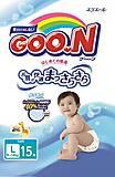 Детские подгузники GOO.N, 9-14 кг, 753754, отзывы