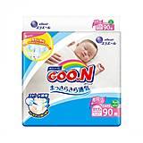 Подгузники GOO.N для новорожденных до 5 кг размер SS 90 штук, 853941, купить
