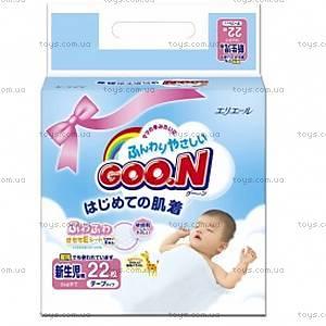 Регулярные подгузники GOO.N «Новорожденные», унисекс, 753630
