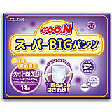 Подгузники-трусики для детей Goo.N, размер BB, 753493, отзывы