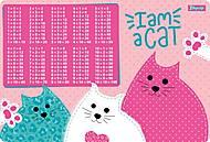 """Подложка для стола детская """"I am a cat"""" 2 шт.в упаковке, 491860, отзывы"""