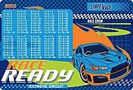 """Подложка для стола детская """"Street race"""" 2 шт. в упаковке, 491863, фото"""