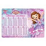 """Подложка для стола детская """"Sofia The First"""" (2 штуки в упаковке), 491640, купить"""