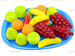 Игрушечный поднос «Фруктовый десерт», 379 в.2, купить