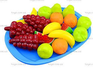Игрушечный поднос «Фруктовый десерт», 379 в.2, фото