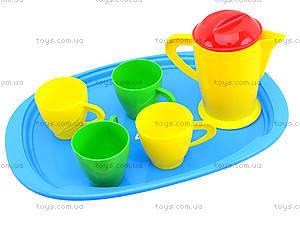 Игрушечный поднос с чайным сервизом, 924 в.2, купить