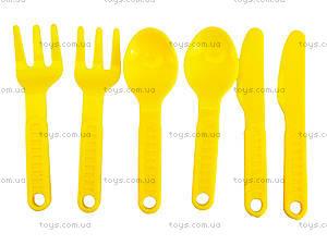 Поднос с набором посуды для детей, 990в.2, цена