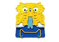 """Подставка для книг №4 """"Сова"""" (пластиковая) 2 шт в упак, 0125, тойс ком юа"""