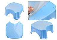 Подставка для ног, голубая, ПХ4508 ГОЛ, оптом