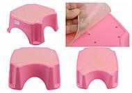 Подставка для ног, розовая, ПХ4508 РОЗ, Украина