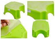 Подставка для ног, салатовая , ПХ4508 САЛ, набор
