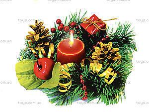 Подсвечник своими руками «Новогодняя сказка», 9007-01, отзывы