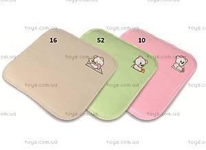Детская подушка Bobas «Медвежата», зеленая, 0093-52, купить