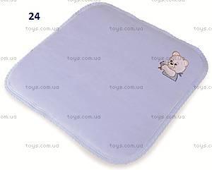 Детская подушка Bobas «Медвежата», зеленая, 0093-52