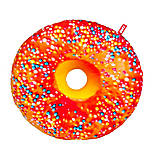 Подушка декоративная «Пончик» апельсиновая глазурь, PP01-А, фото