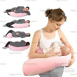 Подушка для кормления Relax, с велюровой наволочкой, 0091-52, купить