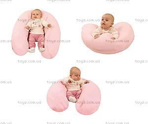 Подушка для кормления Relax, с велюровой наволочкой, 0091-52, фото