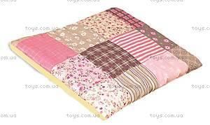 Подушка для новорожденных «Мозаика Pink», молочная, 0100-P-2