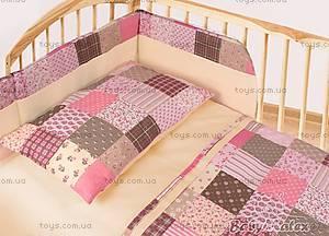 Подушка для новорожденных «Мозаика Pink», молочная, 0100-P-2, купить