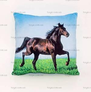 Подушка «Конь на траве», PON01